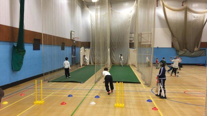 Winter cricket training