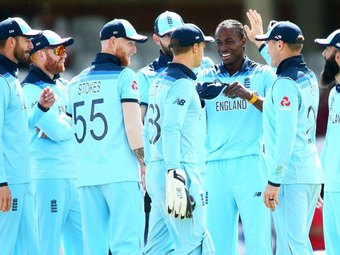 England cricket world cup team
